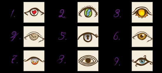 Scarily Accurate Personality Test - Choose an Eye And See What it Reveals About You